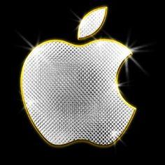 Apple Logo - Silver / Gold