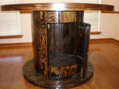OtterBlog: Cable Spool Table