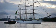 """Bordeaux : le """"Cisne Branco"""" est à quai"""