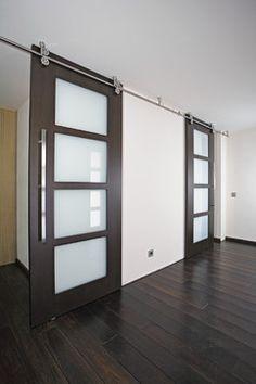 """Wood Sliding Doors - """"Twin"""" - modern - Interior Doors - Other Metro - Bartels Doors & Hardware"""
