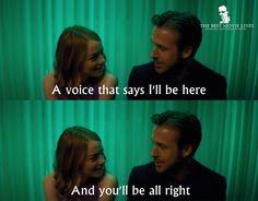 La La Land (2016) Ryan Gosling Emma Stone Dir. Damien Chazelle City Of Stars Lyrics, Film Quotes, Book Quotes, Damien Chazelle, Best Movie Lines, Stupid Love, Favorite Movie Quotes, Romantic Movies, Film Music Books