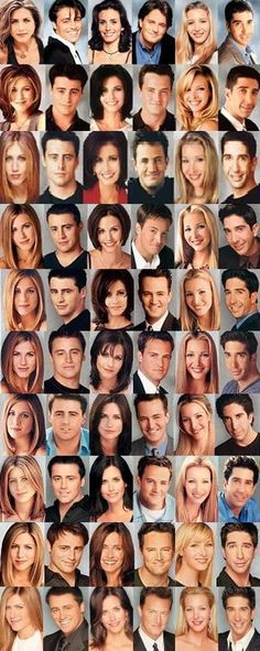 Chandler. Ross. Joey. Monica. Rachel. Phoebe. Expect lots of reblogs, quotes, pictures, music,...