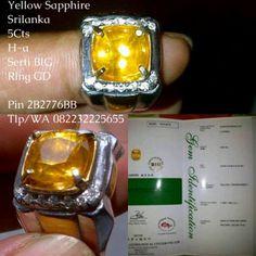 Yellow Sapphire Ceylon