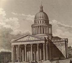fronton pantheon baltard En 1815, Louis XVIII marque le retour de la monarchie en France, laquelle souhaite réaffirmer l'importance de l'église catholique en rendant l'intégralité du Panthéon au culte. Le Panthéon est même renommé Église Sainte-Geneviève.