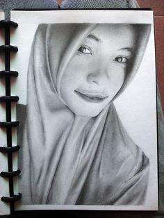 sketsa wajah orderan 02 pensil di kertas A5