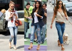 how to wear boyfriend jeans with sneakers - Google Search