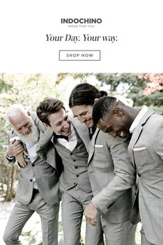 Create The Perfect Moment With Custom Suits And Tuxes. Wedding Poses, Wedding Men, Wedding Suits, Wedding Attire, Our Wedding, Dream Wedding, Wedding Ideas, Groom Attire, Groom And Groomsmen