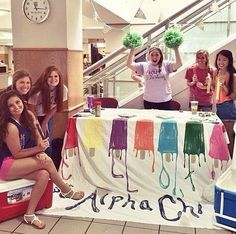 Chill out With Alpha Chi!