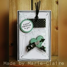 Happy Birthday to you!  Stampin'up,  fuse tool