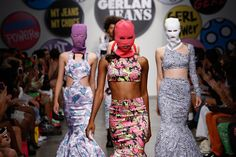 '90s, Minnie Mouse, & Pussy Riot: Girl Power Stands Tall At Gerlan Jeans #refinery29  http://www.refinery29.com/gerlan-jeans#slide16  Photo: Courtesy of Factory PR