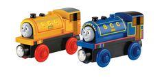 19€ Dad & Tracey  Mattel Fisher-Price BDG18 - Bill und Ben Lokomotive aus Holz