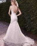 Casablanca Bridal  Collections style #2135. Available @ LOWS BRIDAL.