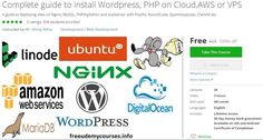 [100% Free #Udemy Course] Complete guide to install #Wordpress  #PHP on #Cloud  #AWS or #VPS   Course Description  Installing any site on cloud server is no easy task. A single Wordpress site needs number of software not only installed but configured together to function. A main reason why people like to stay away from cloud server. But situation has changed now. This course helps you to deploy optimized Wordpress PHP & HTML site on cloud serverin minutes. No prior experience is needed…