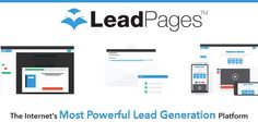 LeadPages - The internet's most powerful solution for Lead Gen and List Building via landing pages. Integrate their high-converting lead capture tools with MailChimp, HubSpot, AWeber, and dozens of other email marketing tools. #AppoftheDay