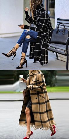 Casual Coats For Women, Clothes For Women, Dress Outfits, Cool Outfits, Cut Clothes, Girl Fashion, Womens Fashion, Mode Style, Casual Chic