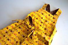 Aesthetic Nest: Sewing: Woodsy Apron Wrap Dress (Pattern & Givewaway)  Patroon overgooier-jurk