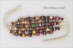 paper beads bracelet  by Horse Wing, via Flickr