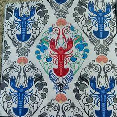 """""""#johannabasford #lostocean #oceanoperdido #lobsters #markerart #art…"""