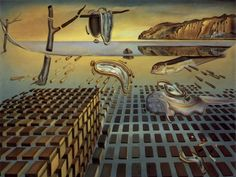 The Desintegration of the Persistance of Memory (La Desintegracion de la Persistencia de la Memoria) 1954 - Salvador Dali