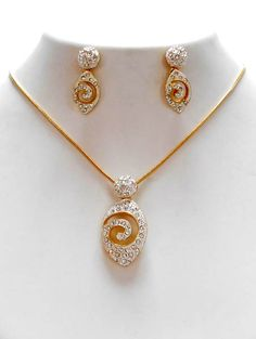 Latest model gold chain pendant sets pendents pinterest chain wholesale indian fashion jewellery aloadofball Choice Image