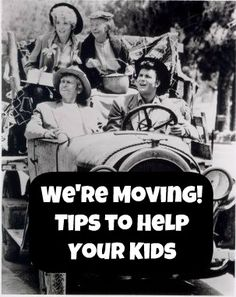 We're Moving! Tips to Help Your Kids from Creative Connections for Kids