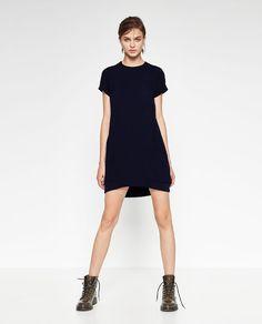 Image 1 of CONTRAST ZIP DRESS from Zara