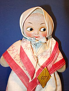 Googly Doll Ecco Made in France