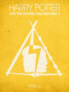 Harry Potter and the Deathly Hallows part 2 [David Yates, 2011] «Minimal Movie Posters Author: Yasmin Nadhirasari»