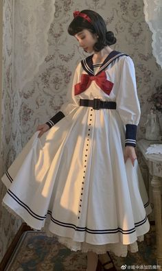 Harajuku Fashion, Kawaii Fashion, Lolita Fashion, Edgy Outfits, Cool Outfits, Quirky Fashion, Kawaii Clothes, Vintage Style Dresses, Lolita Dress