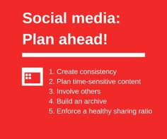 How to Schedule Social Media Content for Next Week, Next Month, and Next Year
