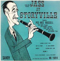 Savoy Records - jazz album covers