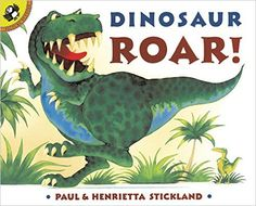 Dinosaur Roar! by Paul and Henrietta Stickland. Ms. Marcia read this book on 11/14/15.
