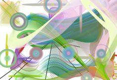 abstrakcyjne rysunki