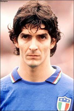 Paolo Rossi (Italy) - Spain 1982 Top Scorer and World Champion.