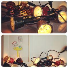 Luci natalizie con riciclo creativo capsule nespresso
