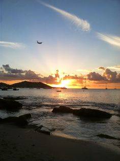 Grand Case, St. Martin ~ Take Memories and Leave Footprints