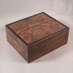 Walnut Burl Box
