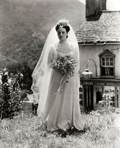 Maureen O'Hara in HOW GREEN WAS MY VALLEY (1941).