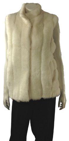 Size M - Bloomingdales Faux Fur Vest