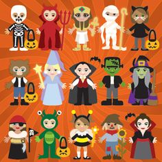 Trick Or Treat Lil' Peeps SVG Collection - $6.99 : SVG Files for Silhouette, Sizzix, Sure Cuts A Lot and Make-The-Cut - SVGCuts.com