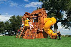Small Yard Play Structures   Swing Set   Rainbow Systems   Playground Equipment   Backyard Playset  Swings and Playsets   Sacramento, Roseville, Folsom, Granite Bay, El Dorado Hills