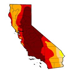 U.S. Drought Monitor forCalifornia