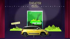 "Fiat 500 ""Theater In A Fiat 500"" From Leo Burnett / Madrid @Philipp Leo Burnett"
