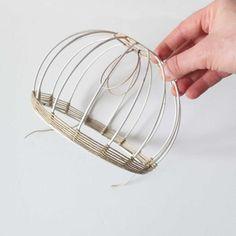 © Cécile Guarino-Scailliérez pour Misc Lamp Design, Diy Design, Diy Lustre, Diy Abat Jour, Sisal, Crochet Lamp, Lampshades, Diy Lampshade, Diy Chandelier