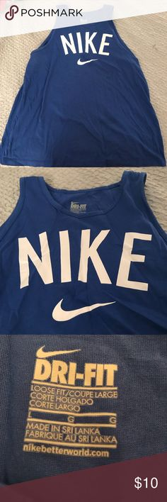 Nike Dri-Fit women's tank Nike Dri-Fit women's tank. Make me an offer☺️! Nike Tops Tank Tops