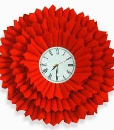 Buy bloom clock orange home-acccessory online, Buy home-acccessories online