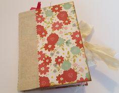 Tea Party Theme Junk Journal, Guest Book, Recipe Book, Writing Journal  £40.00