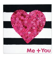 Me + You Canvas by @Crafts Direct.