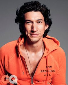 Adam Driver (Star Wars: The Force Awakens) Beautiful Men, Beautiful People, Perfect People, Pretty Men, Kylo Ren Adam Driver, Gq Magazine, Magazine Covers, Fiction, Raining Men