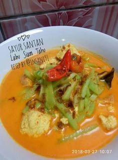 Resep Sayur Santan Labu Siam Tahu Simpel Cepat Mudah Oleh Nursolihi Insani Ny Handoko Resep Resep Tahu Masakan Makanan